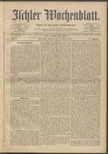 Ischler Wochenblatt 19130112 Seite: 1