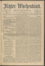 Ischler Wochenblatt 19130323 Seite: 1