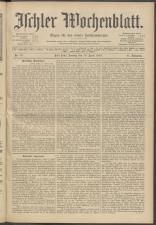 Ischler Wochenblatt 19130413 Seite: 1