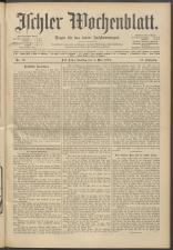 Ischler Wochenblatt 19130504 Seite: 1