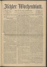 Ischler Wochenblatt