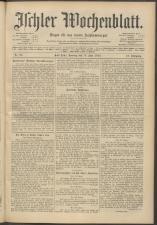Ischler Wochenblatt 19130615 Seite: 1