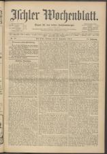 Ischler Wochenblatt 19130928 Seite: 1