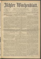 Ischler Wochenblatt 19140329 Seite: 1
