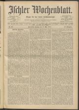 Ischler Wochenblatt 19140517 Seite: 1
