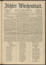 Ischler Wochenblatt 19140628 Seite: 1