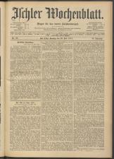 Ischler Wochenblatt 19140726 Seite: 1