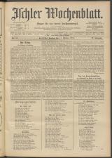 Ischler Wochenblatt 19141011 Seite: 1