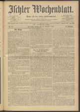 Ischler Wochenblatt 19141129 Seite: 1