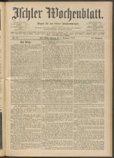 Ischler Wochenblatt 19141206 Seite: 1
