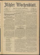 Ischler Wochenblatt 19141225 Seite: 1