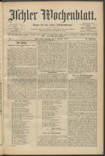 Ischler Wochenblatt 19150207 Seite: 1