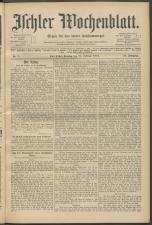 Ischler Wochenblatt 19150214 Seite: 1