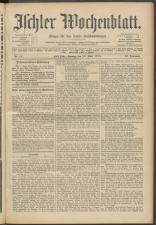 Ischler Wochenblatt 19150328 Seite: 1