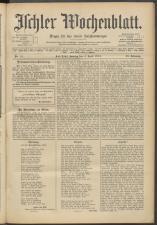Ischler Wochenblatt 19150404 Seite: 1