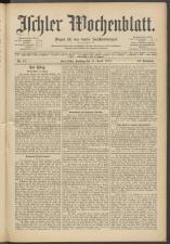 Ischler Wochenblatt 19150411 Seite: 1