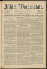 Ischler Wochenblatt 19150418 Seite: 1