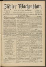 Ischler Wochenblatt 19150425 Seite: 1