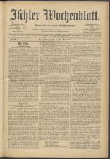 Ischler Wochenblatt 19150516 Seite: 1