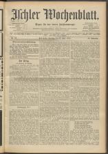 Ischler Wochenblatt 19150627 Seite: 1