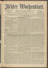 Ischler Wochenblatt 19150704 Seite: 1