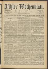 Ischler Wochenblatt 19150718 Seite: 1