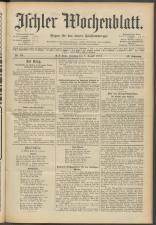 Ischler Wochenblatt 19150808 Seite: 1