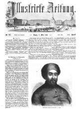 Illustrirte Zeitung 18580306 Seite: 1
