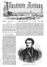Illustrirte Zeitung 18580320 Seite: 1