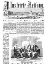 Illustrirte Zeitung 18580501 Seite: 1