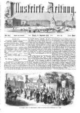 Illustrirte Zeitung 18580911 Seite: 1