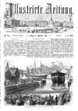 Illustrirte Zeitung 18580918 Seite: 1
