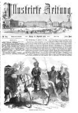 Illustrirte Zeitung 18580925 Seite: 1