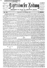 Jägerndorfer Zeitung: Wochenschrift für Fragen von allgemeinem Interesse