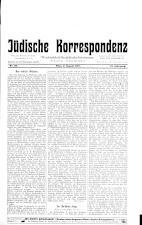 Jüdische Korrespondenz