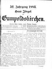 Jörgel Briefe 18830127 Seite: 1