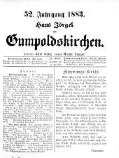 Jörgel Briefe 18830526 Seite: 1