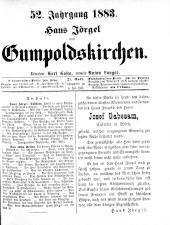 Jörgel Briefe 18830706 Seite: 1