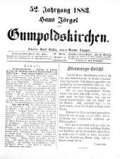 Jörgel Briefe 18830915 Seite: 1