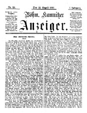 Böhm[isch]-Kamnitzer Anzeiger