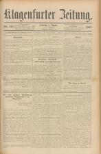 Klagenfurter Zeitung
