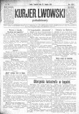 Kuryer Lwowski (Lemberger Courier) 19101222 Seite: 1