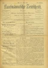 Kaufmännische Zeitschrift 18930101 Seite: 1