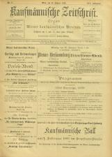Kaufmännische Zeitschrift
