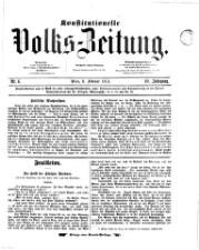 Konstitutionelle Volks-Zeitung