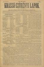 Krasso-Szörenyi lapok 18930101 Seite: 1