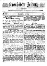Kronstädter Zeitung