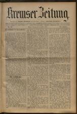 Kremser Volksblatt 18930416 Seite: 1