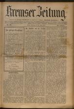 Kremser Volksblatt 18930625 Seite: 1