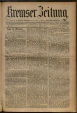 Kremser Volksblatt 18931008 Seite: 1